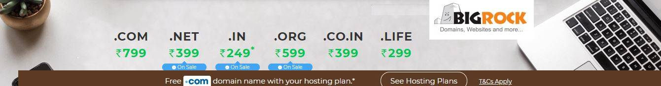 free .com domain and best cheap hosting plans